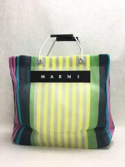 MARNI FLOWER CAFE/SHOPPING BAG/トートバッグ/ナイロン/CLR