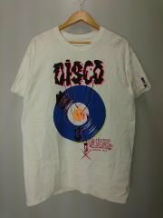 bonjour records/DISCO TEE/Tシャツ/FREE/コットン/WHT