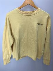 suvin pima jersey long Tshirt/ロンT/長袖Tシャツ/36/コットン/YLW