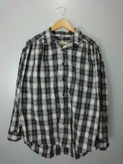 20SS/Painter shirt shadow plaid/ペインターシャツ/S/コットン/BLK/チェック