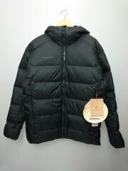 タグ付/Meron IN Hooded Jacket/ダウンジャケット/XL/BLK/1013-00741