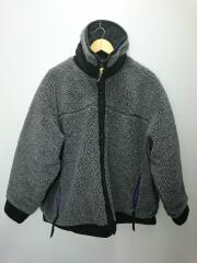 19AW/REVERSIBLE QUILTED FLEECE JACKET/フリース/ボア/one/31AWJK01