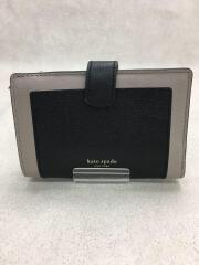 2つ折り財布/マルゴー ミディアム バイフォールド ウォレット/レザー/BLK/PWRU7419