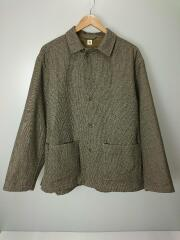20AW/Coverall Shirt Jacket/カバーオールシャツジャケット/38/BRW/KS20FJK05