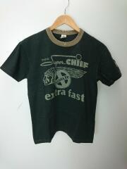 McHILL/THE SUPER CHIEF/Tシャツ/S/コットン/BLK