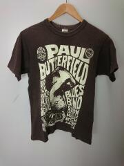 Paul Butterfield/Tシャツ/S/コットン/BRW