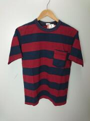 HORIZONTAL STRIPED T-SHIRTS with POCKET/Tシャツ/38/BRD/ボーダー