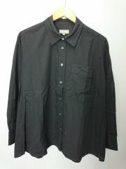 19年モデル/PLAIN COTTON FLANNEL/長袖シャツ/2/コットン/GRY/578-9253012