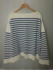 21SS/BASQUE SHIRT/オーバーサイズバスクシャツ/3/コットン/BLU/H2101-CS001