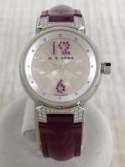 タンブール/クォーツ腕時計/Q1214/ダイヤ/ルビー