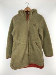 コート/L/ポリエステル/BEG/無地/510872/Womens Mountain Pile Fleece Co