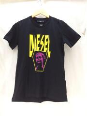 Tシャツ/M/コットン/黒/プリント