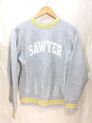 BEAMS別注/REVERSE WEAVE/SAWYER/スウェット/S/コットン/1313-0073-411/