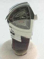 ベンチュラ/H245150/自動巻腕時計/アナログ/レザー/ブラウン/茶/オートマチック
