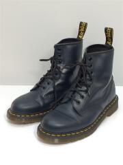 ブーツ/US9/UK8/42/ブラック/ブルー/レザー/8ホールブーツ/1460/10072/