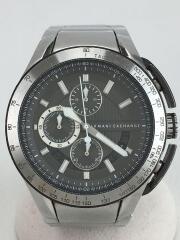 アルマーニエクスチェンジ/AX1403/クォーツ腕時計/アナログ/ステンレス/GRY/SLV