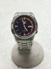 自動巻腕時計/アナログ/ステンレス/BLU