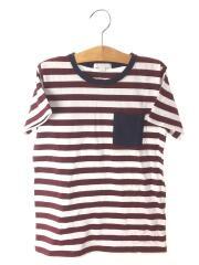 Tシャツ/140cm/コットン/BRD/ストライプ