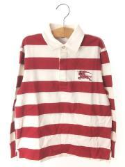 ポロシャツ/140cm/コットン/RED