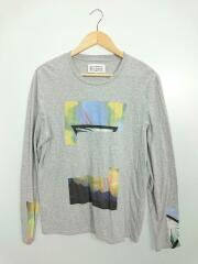 13AW/長袖Tシャツ/44/コットン/GRY