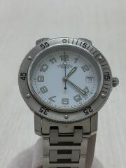 CL7.710/クリッパー/クォーツ腕時計/アナログ/WHT