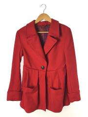 ACNE STUDIOS/WILLEM RED PAW12/コート/34/ウール/RED