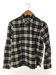 L/S CODY SHIRT 長袖ボタンダウンシャツ/M/コットン/BLK/チェック/NRW11609