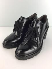 GWEN LACE UP BOOTIE ブーティ/37/BLK/牛革