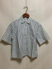 半袖シャツ/1/コットン/ストライプ/595-8152552