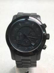クォーツ腕時計/アナログ/--/BLK/BLK/MK-8157