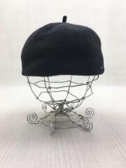 ベレー帽/--/ウール/BLK