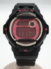 クォーツ腕時計・Baby-G/デジタル/PNK
