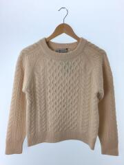セーター(厚手)/36/ウール/IVO/無地/NL73KT4503TN