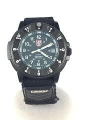 クォーツ腕時計/アナログ/--/BLK/BLK/3400-200/マジックテープ/ミリタリーウォッチ