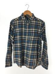 ネルシャツ/M/ロングスリーブシャツ/チェック/長袖シャツ