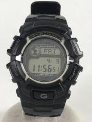G-SHOCK/ソーラー腕時計/デジタル/BLK/使用感有