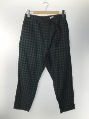 23/EZ Pant-Cotton Tartan Check/M/コットン/GRN/チェック