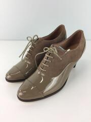 オックスフォードパンプス/35/ベージュ/ブラウン/クツ/紐靴/カジュアル/53333521027
