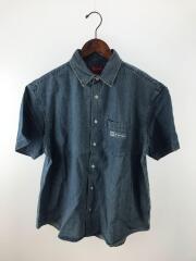20ss/invert Denim S/S Shirt/タグ付/美品/半袖シャツ/M/デニム/IDG