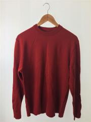 セーター(薄手)/3/ウール/RED