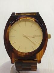 クォーツ腕時計/アナログ/GLD
