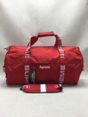 ボストンバッグ/ナイロン/RED/無地/18SS/Duffle Bag/