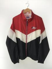 SPIKE SPORT/90s/Bud RACING/ナイロンジャケット/L/ナイロン/RED
