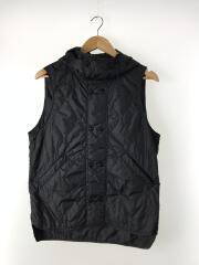 Blower Bud Vest/ナイロンベスト/S/ナイロン/BLK/タグ付き
