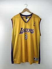 NBA LOS ANGELES LAKERS/kobe bryant/タンクトップ/XL/ナイロン/YLW