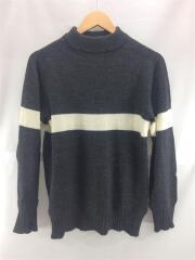 セーター(薄手)/40/ウール/GRY
