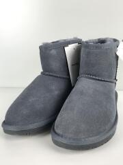 ブーツ/24cm/GRY/スウェード