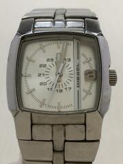 腕時計/Cliffhanger/dz-5230/アナログ/ステンレス/ホワイト/シルバー