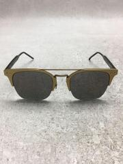 サングラス/BV0146SA/アジアンフィット/レクタンブル/ウェリントン/ゴールド/ブラック