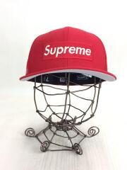 ボックスロゴ/キャップ/帽子/7 1/2/レッド/赤/ベースボールキャップ NEWERA ボックスロゴ